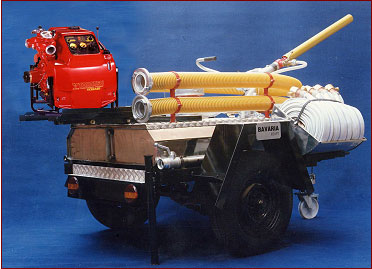 Water/Foam Fire Fighting Trailer