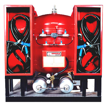 Dry Chemical Powder Fire Fighting Stationary Unit
