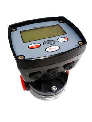 Oval Gear Flowmeter - Series POGF