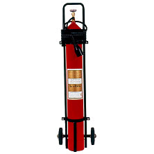 Mobile Carbon Dioxide Fire Extinguisher