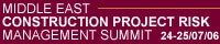 Middle East Construction Project Risk Management Summit