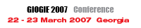 GIOGIE 2007