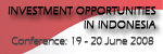Investment Opportunities in Indonesia 2008