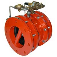 Tubular Diaphragm Fire Relief Valve, FM Approved