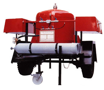 Dry Chemical Powder Fire Fighting Trailers