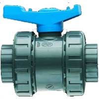 PVC Ball Valve, type VERV